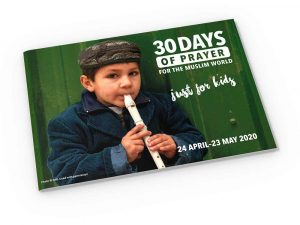 30 Days of Prayer – Kids Booklet