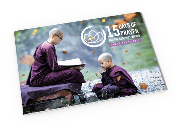 Cover - 15 Days of Prayer - Buddhist